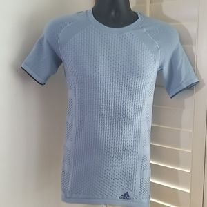Addidas Climalite Fitted Running Shirt Small (I-19